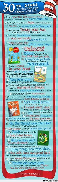 30 Dr. Seuss quotes