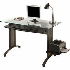 Whalen 174 Astoria Computer Desk Brown Cherry Traditional