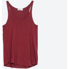 Zara Tank Top ($7.90) ❤ liked on Polyvore