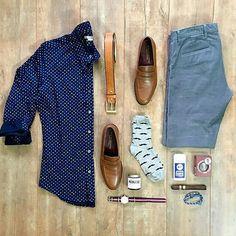 Outfit grid - Polka dot summer