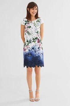 Spitzenkleid Mini Schwarz Kleid Abendkleid ashley brooke by heine Regular Fit