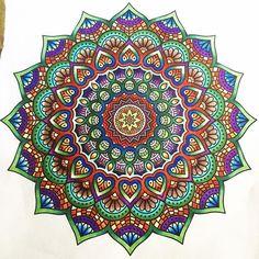 Beautiful mandala design by @tashx001 using their Chameleon Pens! #chameleonpens #pen #marker #alcoholmarkers #colour #color #coloring #colouring #mandala #mandaladesign #mandalaart #art #artwork #artist #pattern #colourtones #colortones