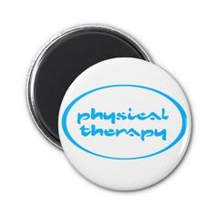 Physical Therapy Fridge Magnet