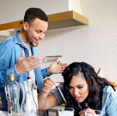Too many cooks in the kitchen?? Ayesha And Steph Curry, Stephen Curry Ayesha Curry, Stephen Curry Family, The Curry Family, Stefan Curry, Stephen Curry Wallpaper, Too Many Cooks, Stephen Curry Basketball, Stephen Curry Pictures