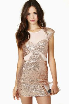 Wild For The Night Sequin Dress