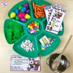 Easter Stew! Counting brews and stews is a FUN, hands-on way to develop counting concepts and skills with preschool, pre-k, tk, and kindergarten students!