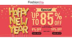 #FashionMia Happy #NewYear Special Up to 85% Off | Get 8% Off Over $89+ | 10% off Over $139+  #womens #girls #fashion #beauty #beautifull #stylish #pearl #dresses #tops #bottoms #jeans #shirts #round_neck_blouse #blouse #tshirts #swimwear #skirts #bodycon #sexy #trendy #outerwear #tank #vest #sweater #coats #hoodies #pants #jumsuits #rompers