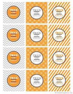 cute halloween printables
