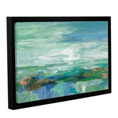 Shop for Silvia Vassileva 'Emerald Bay' Gallery Wrapped Floater-framed Canvas. Get free delivery at Overstock.com - Your Online Art Gallery Store! Get 5% in rewards with Club O!