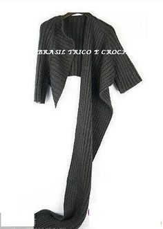 Brasil Tricô & Crochê - Handmade: Blusette Anelize