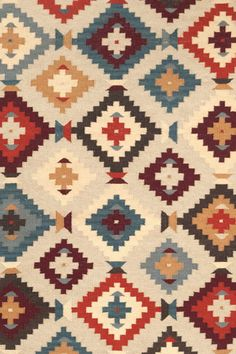 Texcoco Kilim Wool Woven Rug   Dash & Albert Rug Company