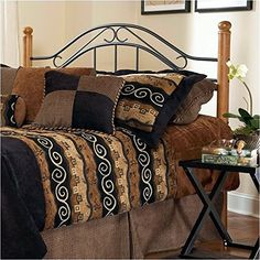#donations The winsloh headboard comes in classic design that has become on the of the industry's best sellers. a lodge or cottage theme marries round medium oa...