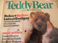 Teddy Bear and Friends Magazine, December 1996. $2,50, via Etsy.