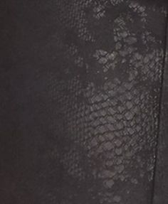 William Rast Snake-Embossed Skinny Moto Pants - Black 26