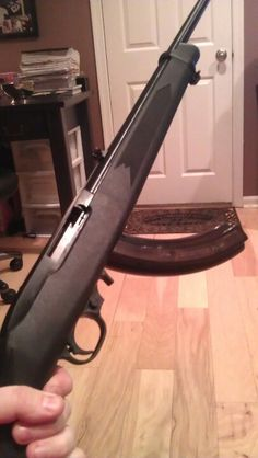 My new ruger 10/22 with the 25 round magazine