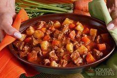 Receita de Picadinho de carne diferente em Carnes, veja essa e outras receitas aqui!