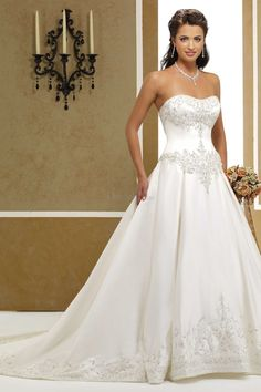 Classic Princess Wedding Dress with Sweetheart Bodice this will be my dress!!!