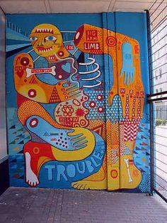 Street art | Mural (The Netherlands) by David Shillinglaw