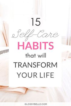 Looking to recharge, improve your happiness, reset your anxiety and stress levels, & be as productive as possible? Here are 15 simple self-care habits & practices that you can incorporate into your daily life that will inspire joy and happiness every Wellness Tips, Health And Wellness, Health Tips, Mental Health, Health And Beauty Tips, Motivation, Stress Disorders, Self Care Activities, Self Improvement Tips