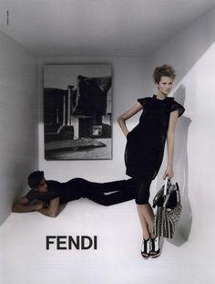 Karl Lagerfeld - Fendi Ad Campaign Spring/Summer 2009