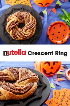 Nutella® and Pillsbury giving ultimate squad ghouls with this easy Halloween Nutella® Crescent Ring. This recipe combines Nutella® hazelnut spread and Pillsbury crescent rolls for a frighteningly delicious treat. Click to buy! Fall Recipes, Sweet Recipes, Snack Recipes, Dessert Recipes, Snacks, Crescent Ring, Crescent Rolls, Just Desserts, Delicious Desserts