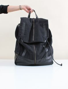 Henrik Vibskov Corner Backpack- Black