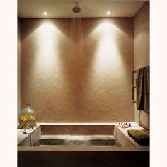 Une salle de bain zen avec un bassin double fonction