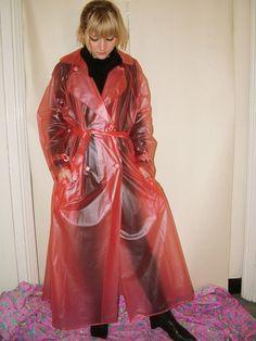 Imper Pvc, Plastic Mac, Rain Wear, Raincoat, Sari, Female, Latex, How To Wear, Awesome