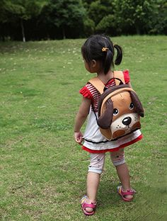 d66bbdcd0910 Amazon.com  Yodo Kids Insulated Toddler Backpack with Safety Harness Leash  and Name Label - Playful Preschool Lunch Boxes Carry Bag