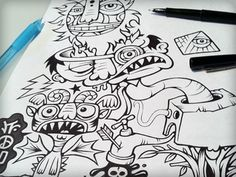 Funny illustrations by Von Glitshka