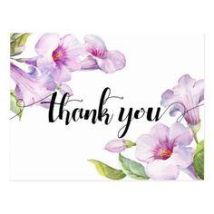 Thank You Postcard - thank you gifts ideas diy thankyou