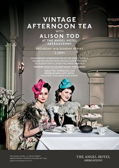 Vintage Afternoon Tea - what a perfect idea for a girls party!