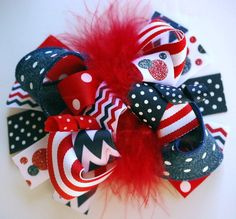 boutique+FUNKY+fun+DENIM+red+and+navy+PATRIOTIC+chevron+by+andjane,+$12.99