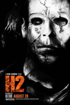 Poster for Rob Zombie's H2, 2009.