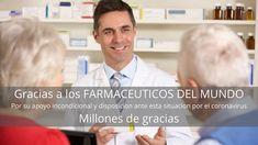Gracias farmaceuticos del mundo, frente el coronavirus - EVILAF | Escuela Virtual Latinoamericana de Asesoría y Formación World, Side Effects, Thanks, School, News