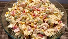 Sałatka z makaronem i wędzonym kurczakiem Salad Recipes, Healthy Recipes, Tortellini, Pasta Salad, Potato Salad, Salads, Food Porn, Lunch Box, Food And Drink