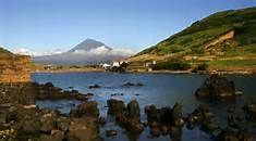 Pico in the background, from Faial