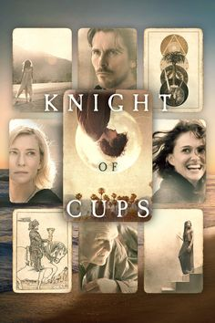 Knight of Cups (2015) ... A Los Angeles screenwriter (Christian Bale) indulges his wild side with a stripper (Teresa Palmer), a model (Freida Pinto) and a married woman (Natalie Portman). (16-Oct-2016)
