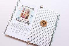 #LittleSummerJoy 2016   A DIY Mini Album by Mandy Elliott, Turquoise Avenue Celebrating Summer (via LittlePaperProjects.com) featuring designs by One Little Bird.
