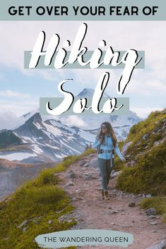 Get Over Your Fear Of Hiking Alone - These are tips and tricks on hiking solo or solo hiking as a female. Feel safe and read these tips on hiking all by yourself! hiking alone | hiking by yourself | solo hiking | is it safe to hike alone | hiking alone safety | going hiking | solo hiking tips | how to start hiking | backpacking alone | dangers of hiking alone | hiking on your own | how to hike alone | solo hiking trips | backpacking solo | backpacking usa alone | my hike | what to do when… Solo Travel Tips, Travel Advice, Travel Guide, Hiking Trips, Adventure Activities, Best Hikes, United States Travel, Travel Inspiration, Life Inspiration