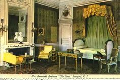 Berwind's Bedroom, The Elms, Newport. Beautiful Bedrooms, Beautiful Interiors, Whitney House, Villa Rosa, French Bed, French History, French Furniture, Rhode Island, Versailles