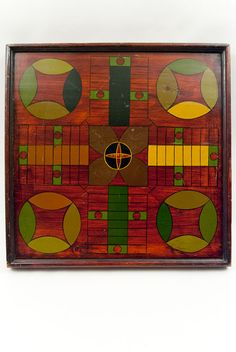 9 Color Double Sided Lancaster Co. Pennsylvania Antique Gameboard