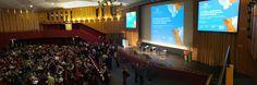 Europauditorium, live from #Cersaie inauguration ceremony.  #MCaroundCersaie