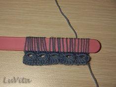 Вязание в технике брумстик |