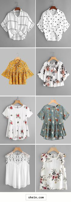 Best blouses start at $8!
