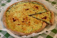 Torta salata con zucchini e basilico!