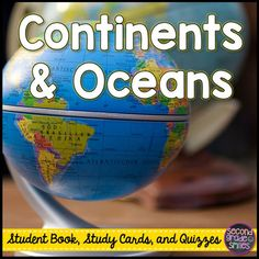 Seven Continents Major Oceans Social Studies And Students - The five major oceans