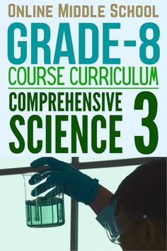 Online Middle School Grade-8 Course Curriculum Comprehensive Science 3 #grade8 #sceince #onlinemiddleschool