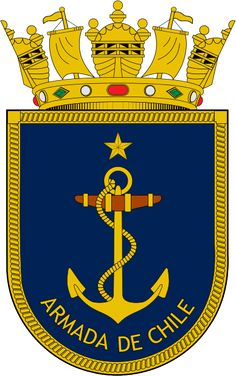 Coat of arms of the Chilean Navy Norfolk, Berlin, Female Soldier, New Years Eve Party, Coat Of Arms, Armed Forces, Porsche Logo, Old Things, Military