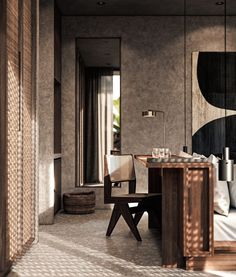 Architectural Visualizations for the new Casa Cook Hotel in Chania . Luxury Home Decor, Luxury Interior, Decor Interior Design, Interior Architecture, Interior Decorating, Origami Architecture, Architecture Sketchbook, Architecture Plan, Contemporary Interior